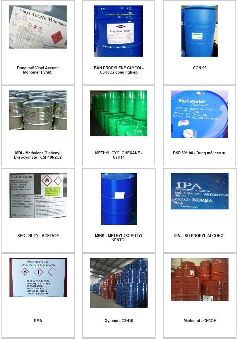 dung môi vinyl acetate monomer
